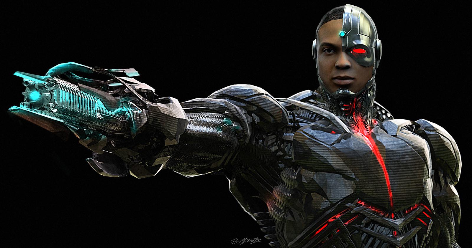 Justice League: Cyborg Concept Art