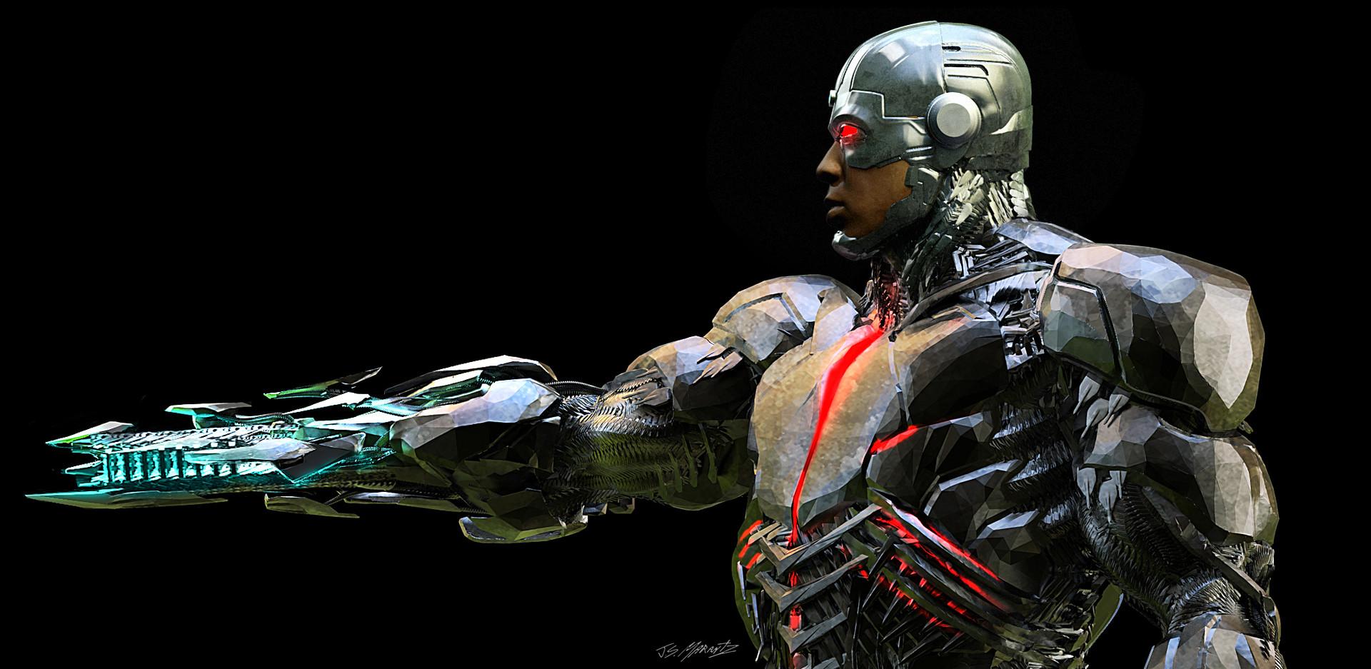 Jerx marantz cyborg gun view 1 2 2