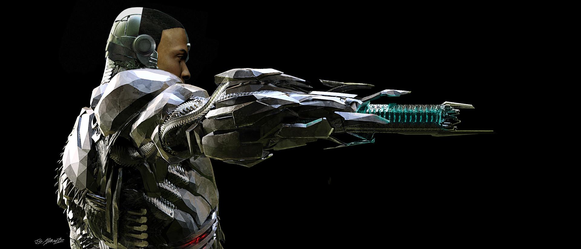 Jerx marantz cyborg gun view 2 2 2