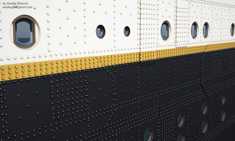 Montage Titanic Trumpeter 1/200 - Page 10 Vasilije-ristovic-titanic43