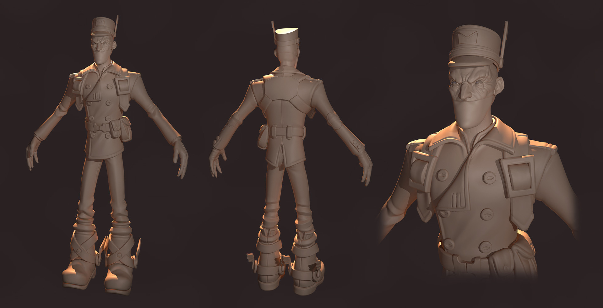 Patrick grant sculptrender