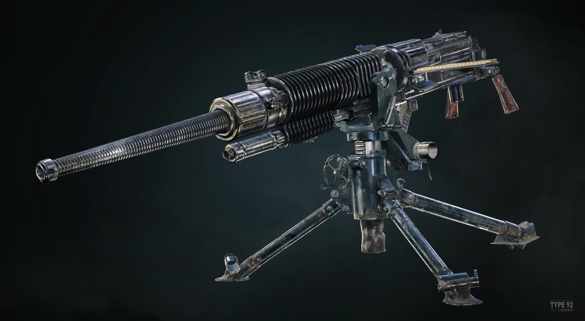 develop heavy machine guns - HD1920×1056