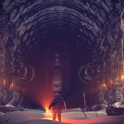 Ben nicholas bennicholas aliens darksouls lordacheron 01