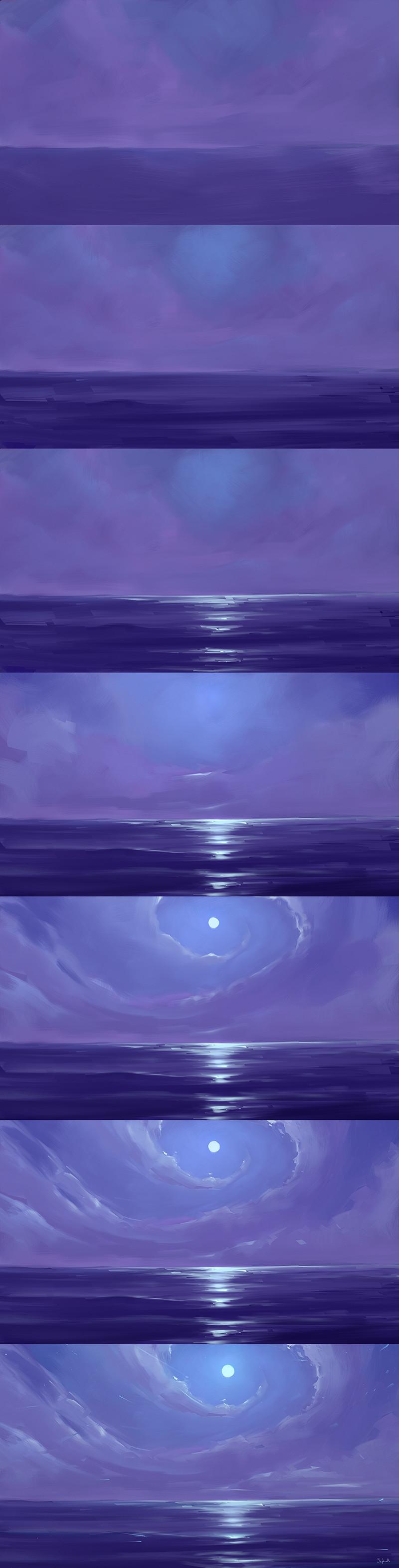 Sephiroth art edge step