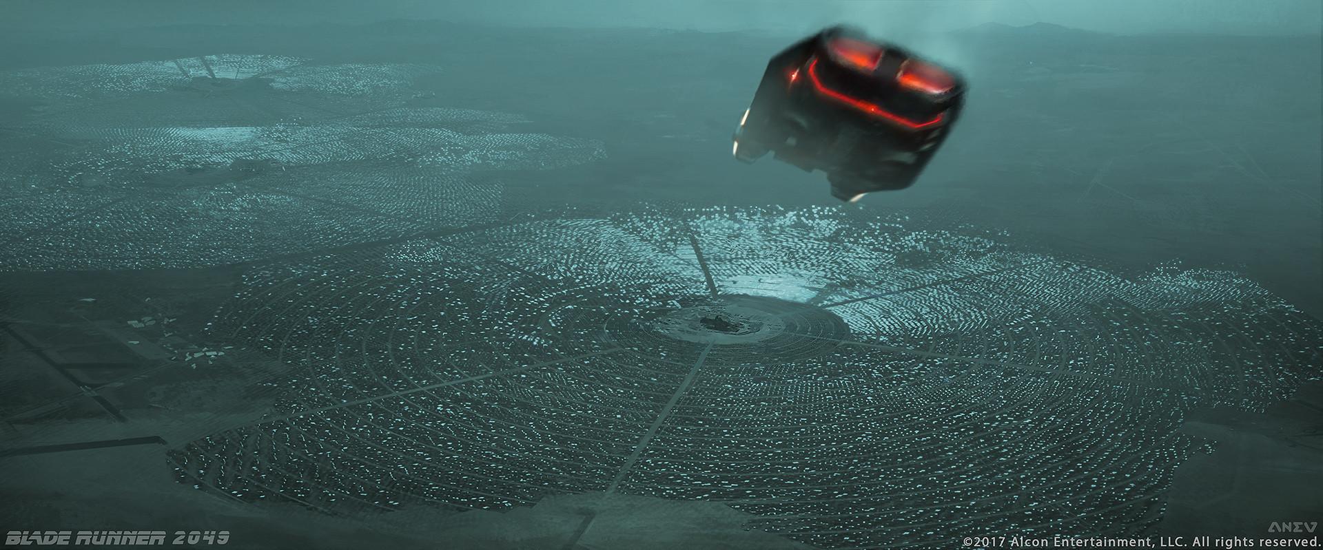 Artstation Opening Scene For Blade Runner Kamen Anev