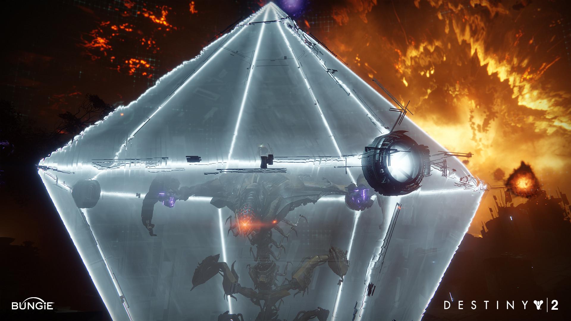 ArtStation - Destiny 2 DLC1 : Raid Boss Shield, Mike Stavrides