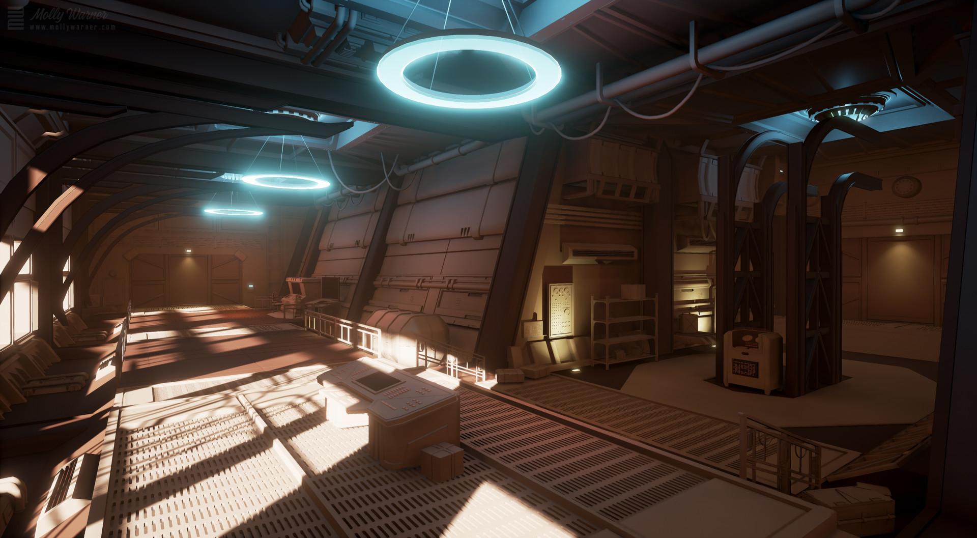 Molly warner art deco sci fi hallway final2