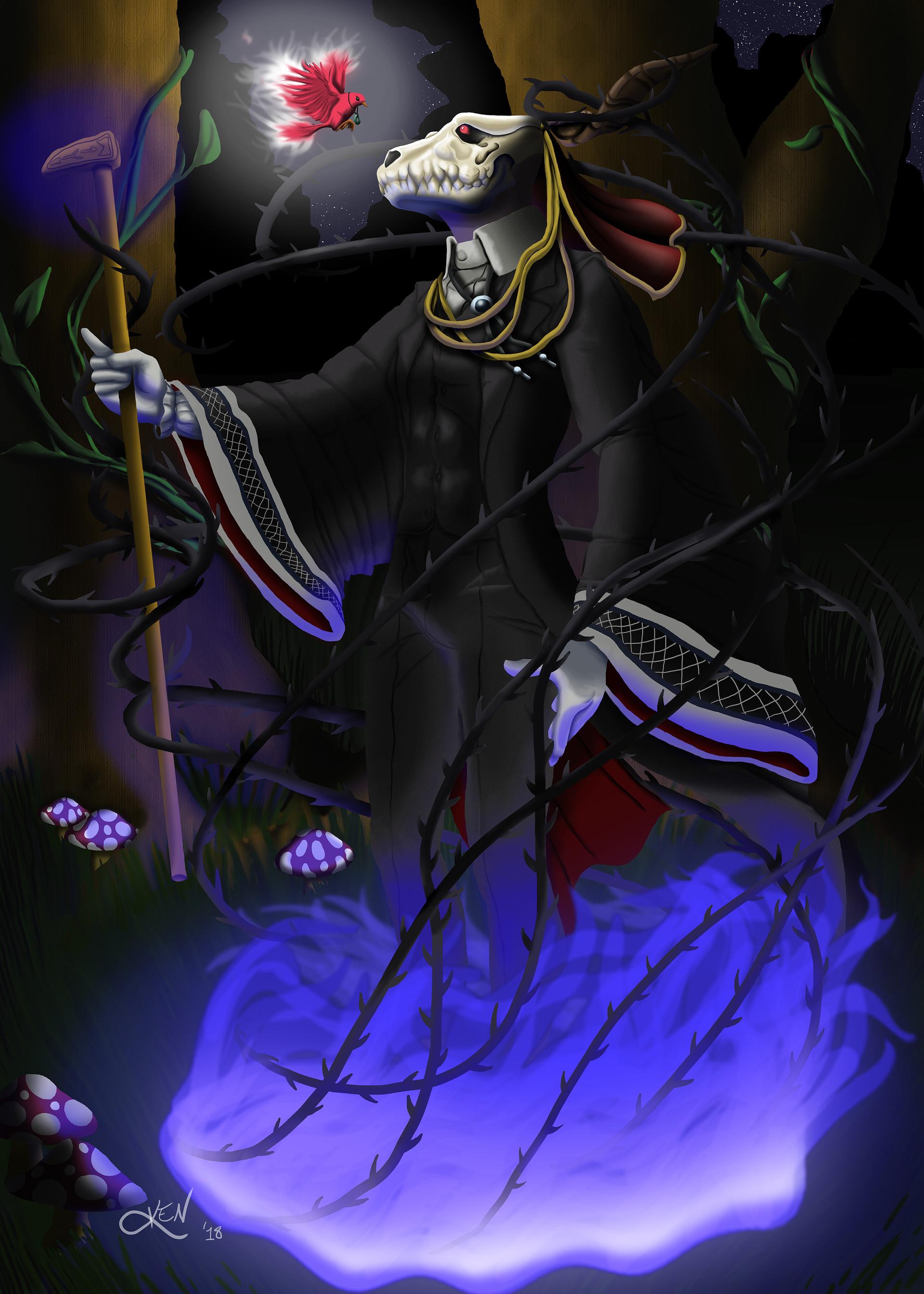 Artstation Elias From The Ancient Magus Bride Ken 3
