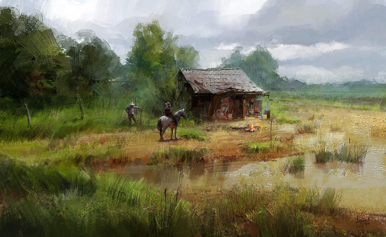 Alex ichim random painting