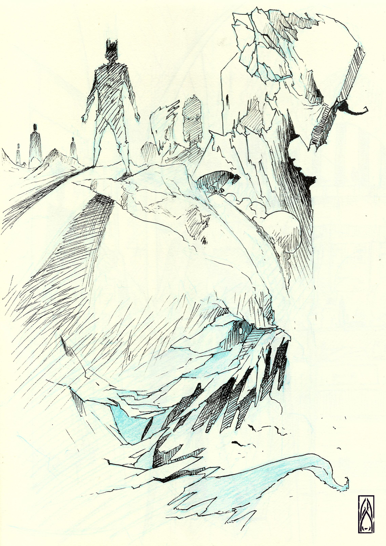 Gustavo arteaga titans sketch