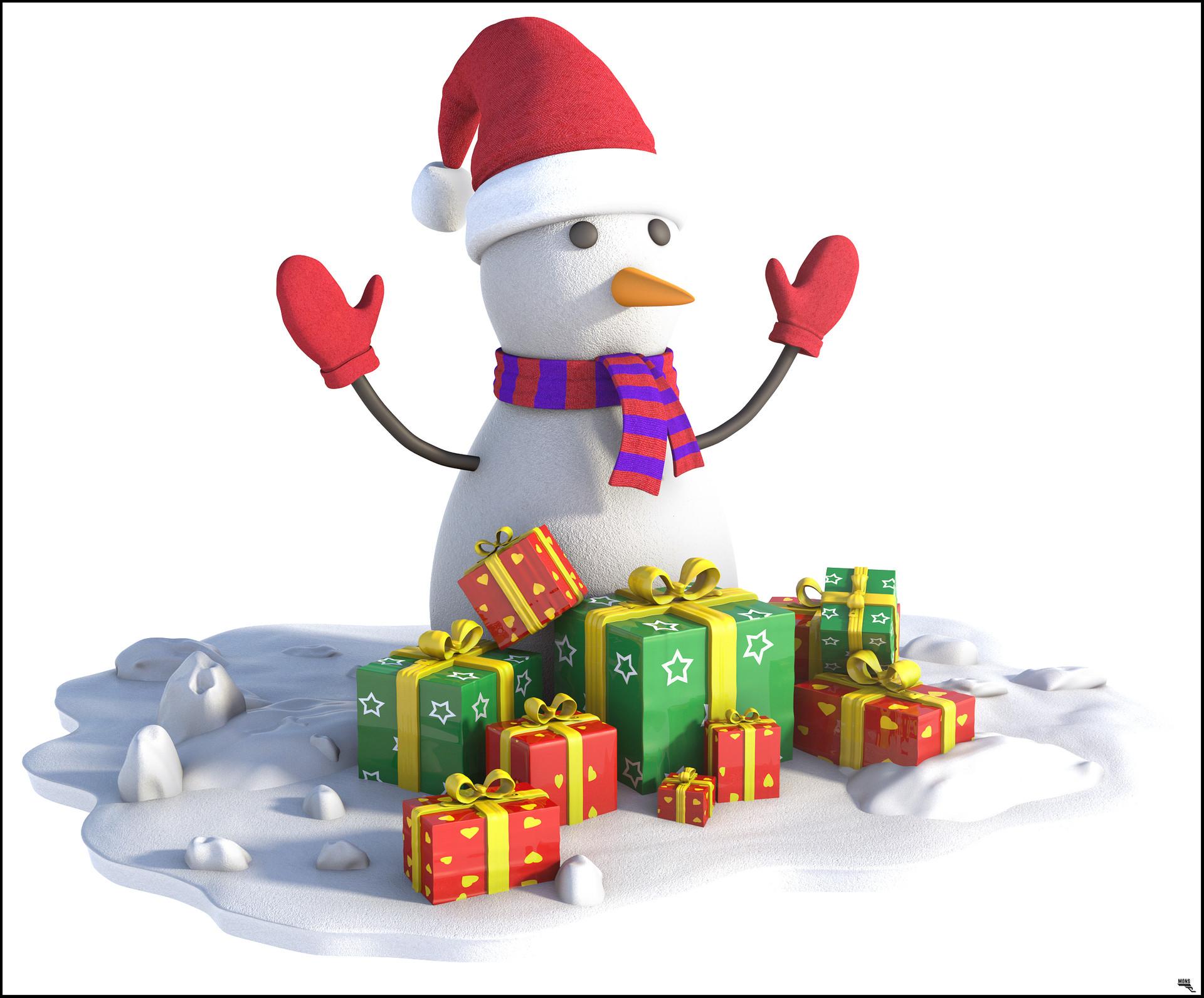 Marc mons snowman1