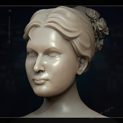 Surajit sen lady sculpt surajitsen