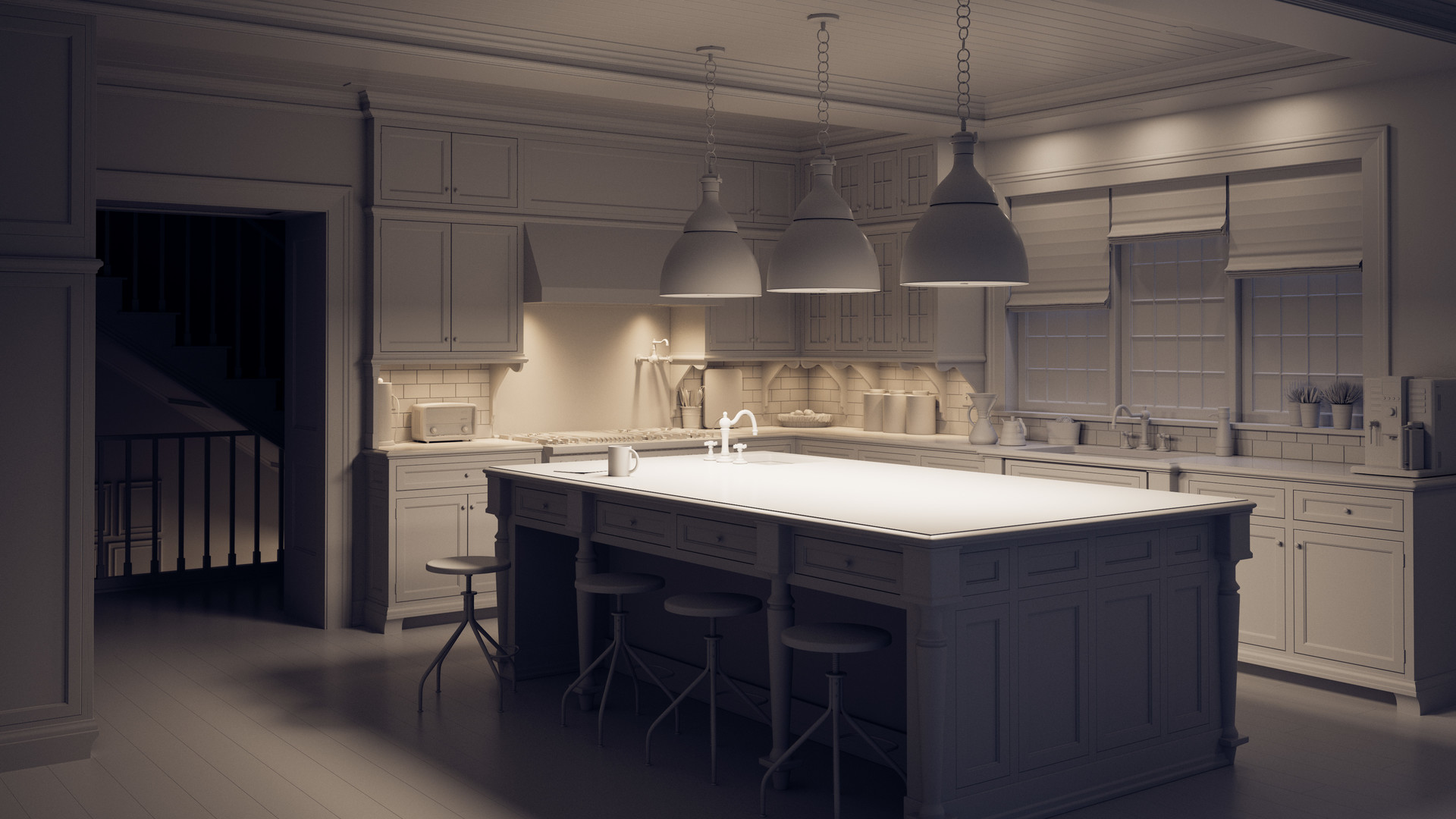Neal biggs archviz kitchen ws 0000 clay