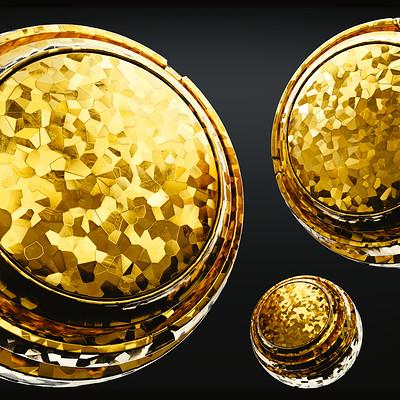 David bock gold flakes front