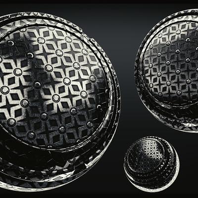 David bock metal star pattern front