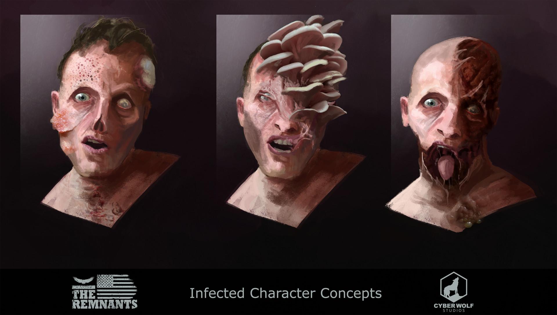 Jack dowell zombie portrait m