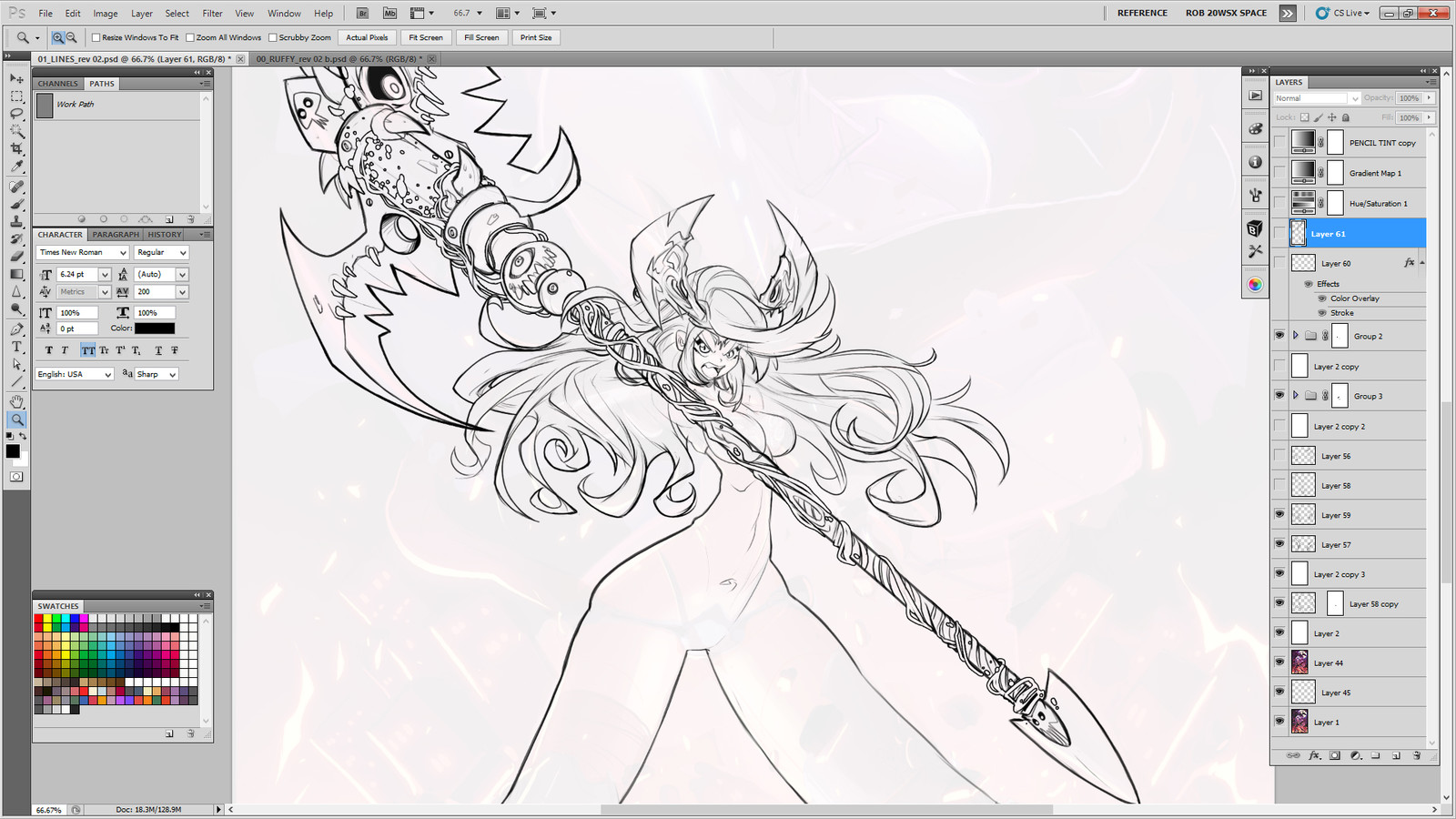 Linearts WIP