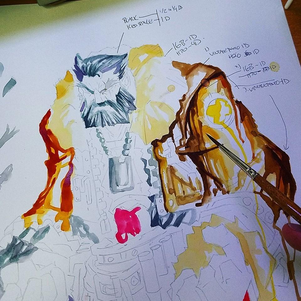 Watercolor dev