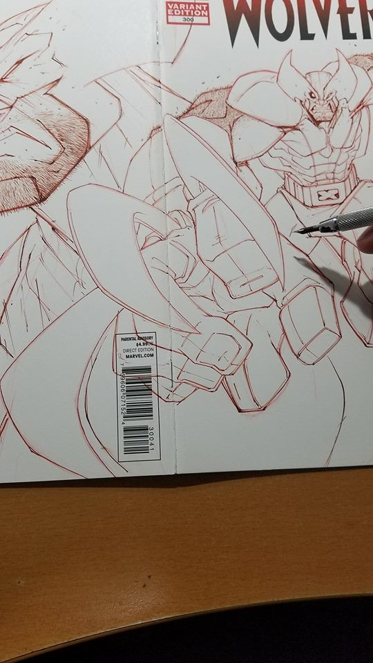Inking wip...