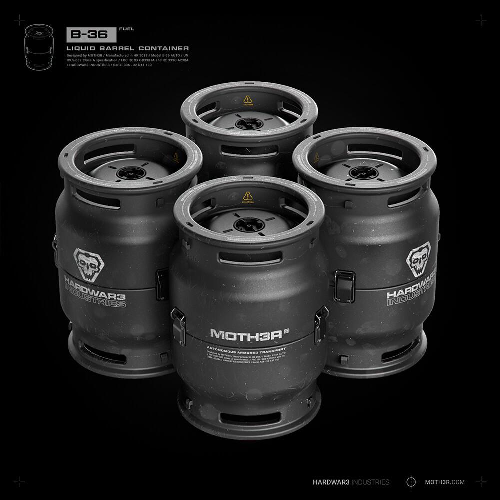Ivan santic barrel a02 x