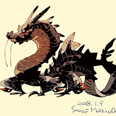 Satoshi matsuura 2018 01 09 orient dragon