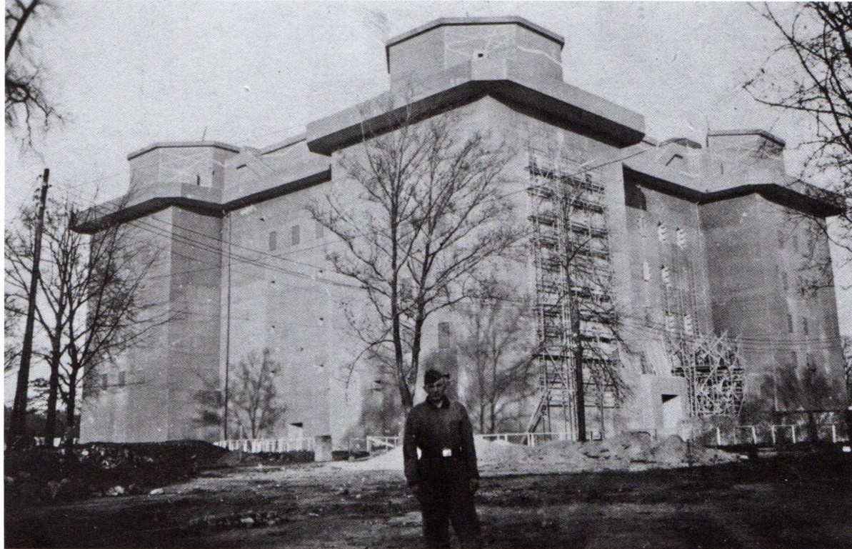 Photo of the Flaktower, 1942