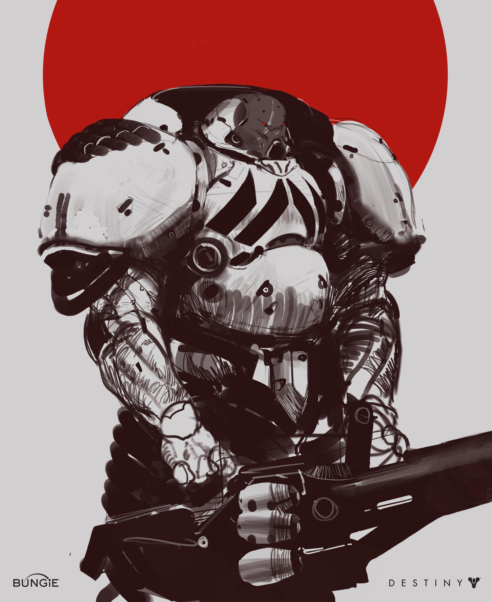 Early armor concept.
