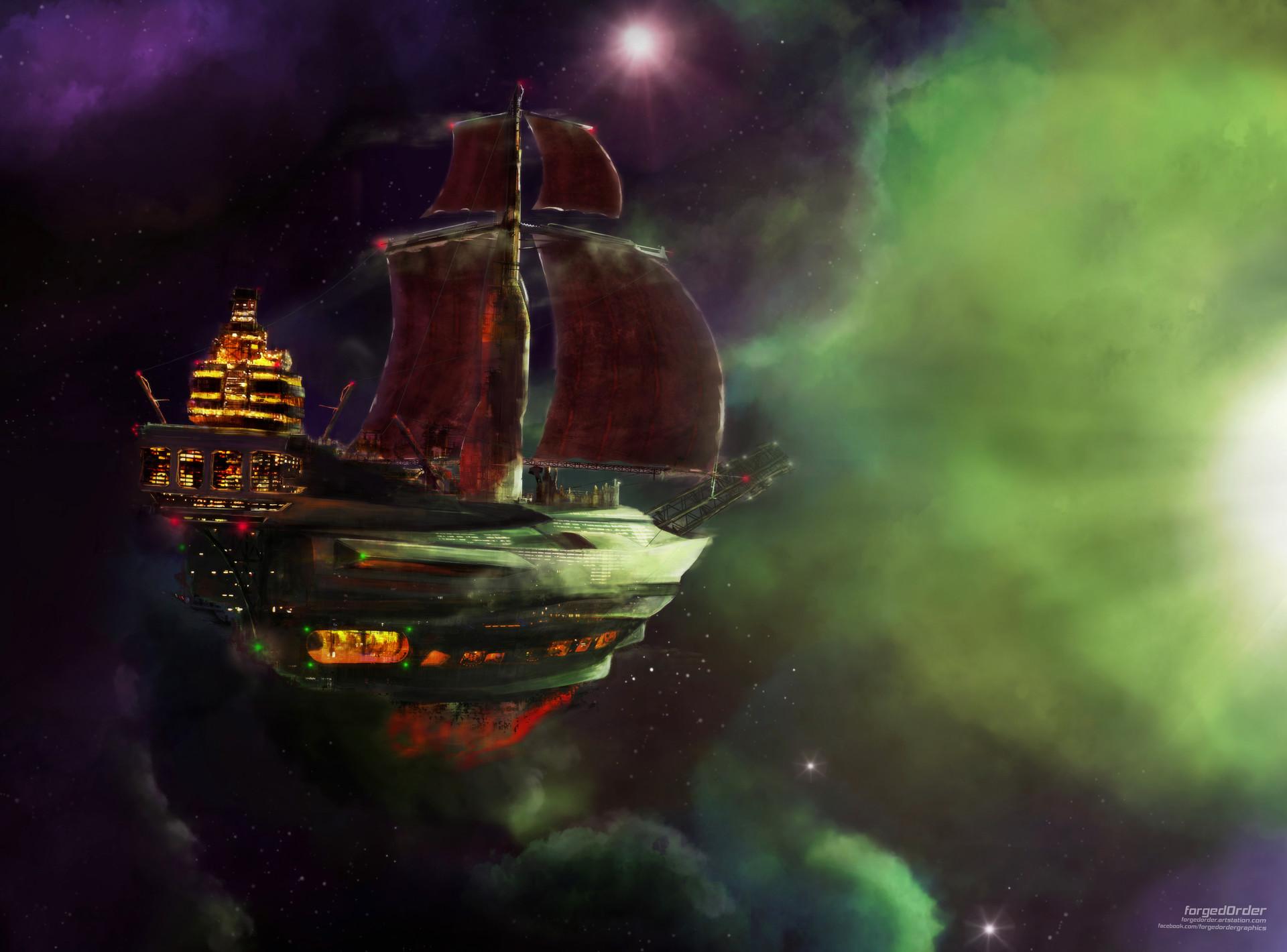 Attila gallik forgedorder sailing