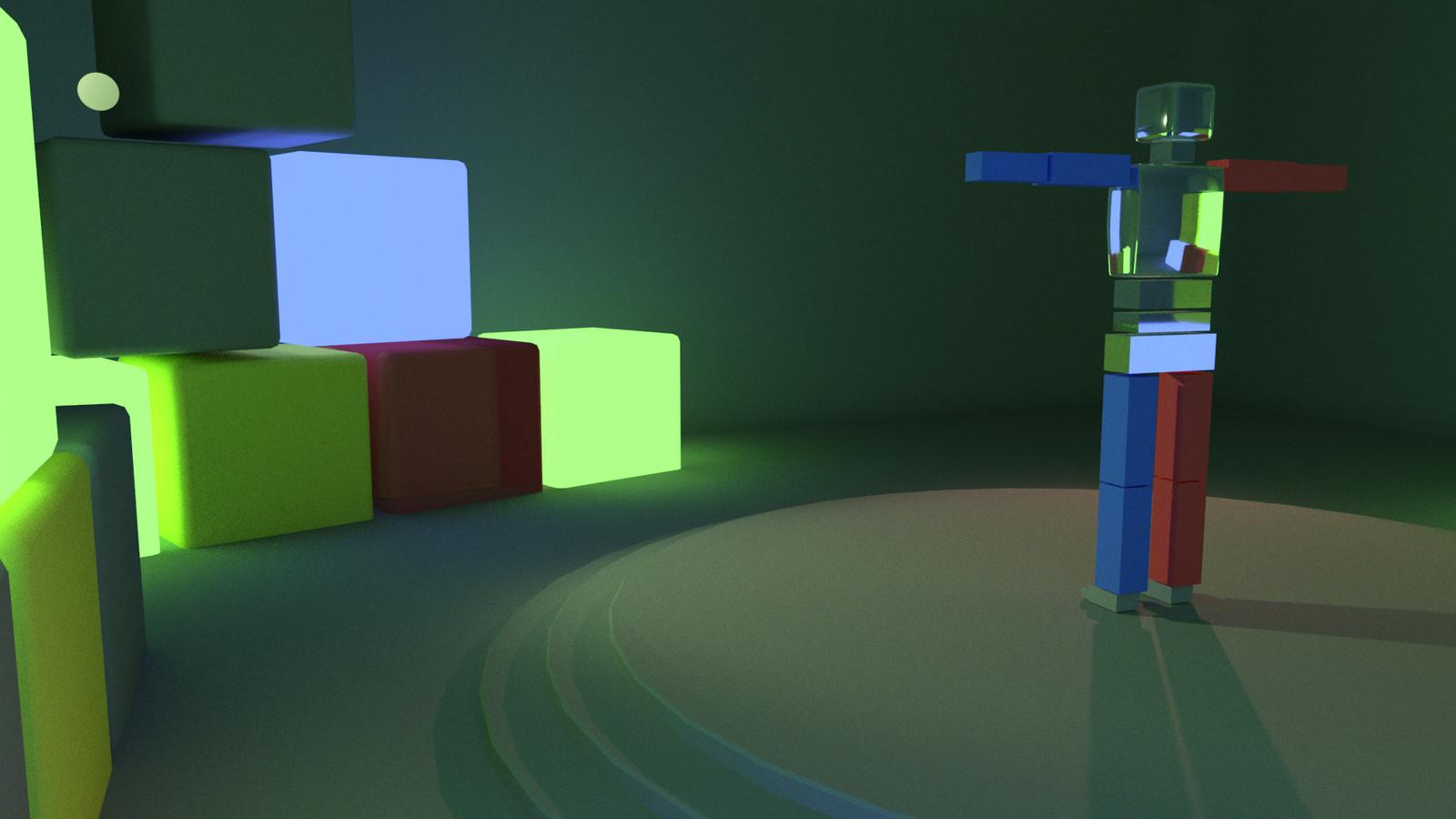 Alternate still - lights are behaving strangely