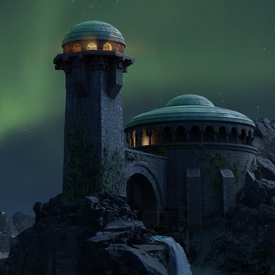 Eli gershenfeld castle night