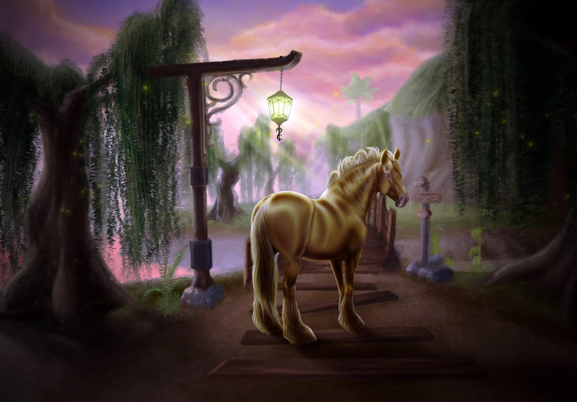 Cullen Malkemus Jorvik Wild Horse