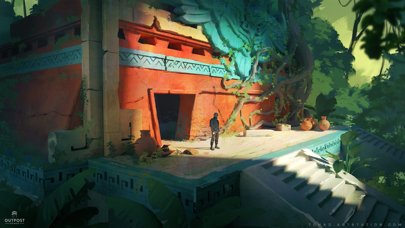 SOS concept art : ruins