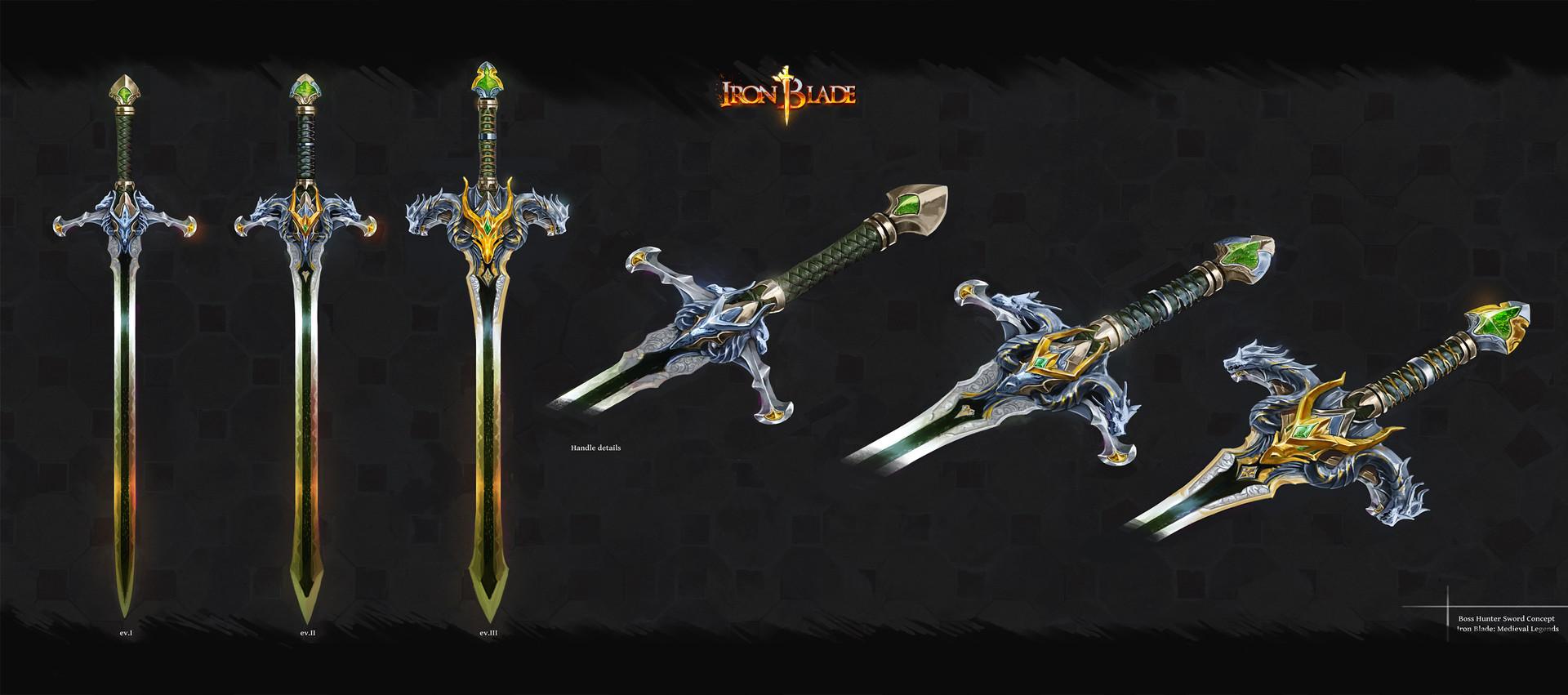 Demon Hunter Blade