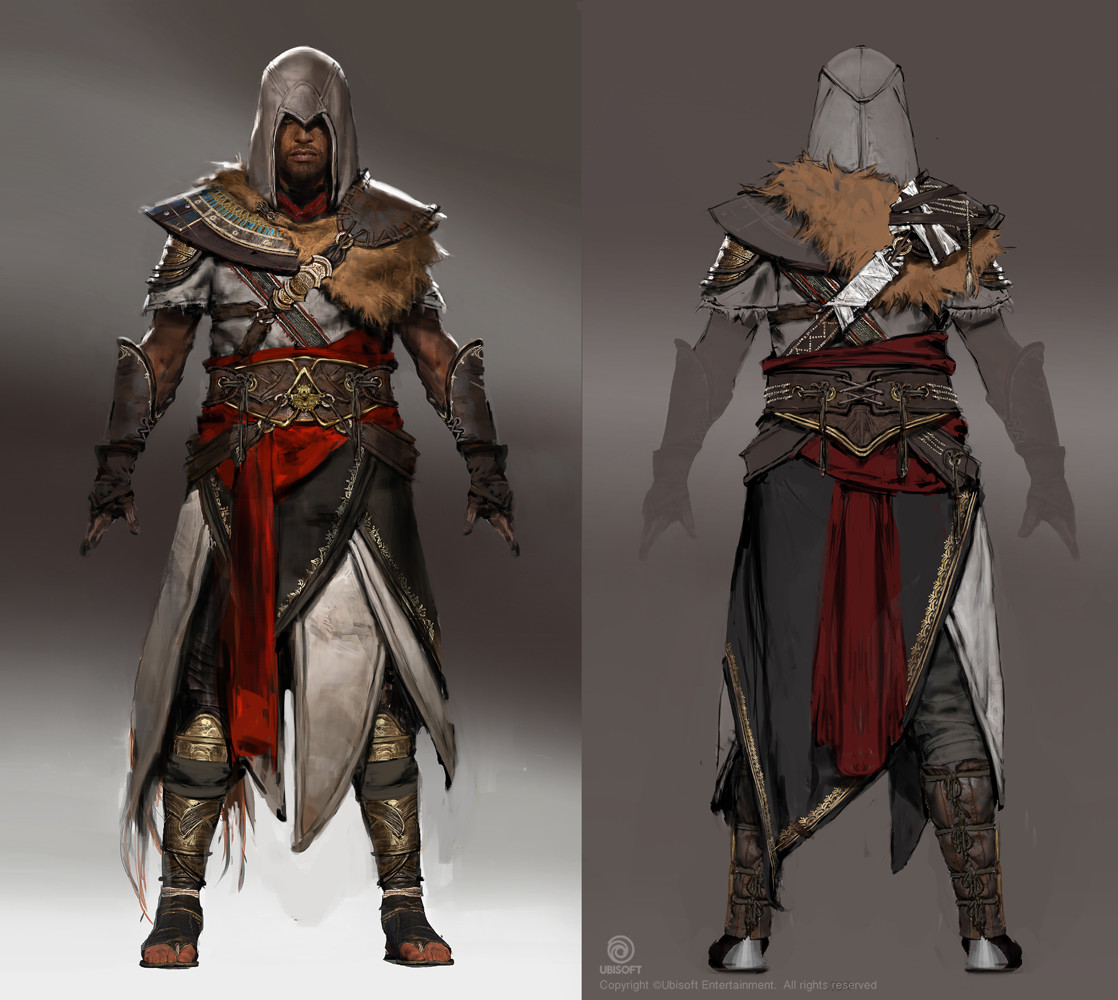 Artstation Assassin S Creed Origins The Hidden Ones Dlc Outfits