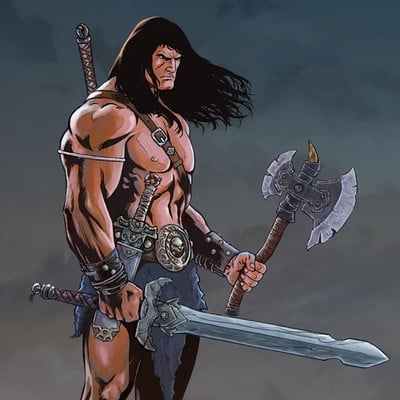 Fernando merlo conan the barbarian