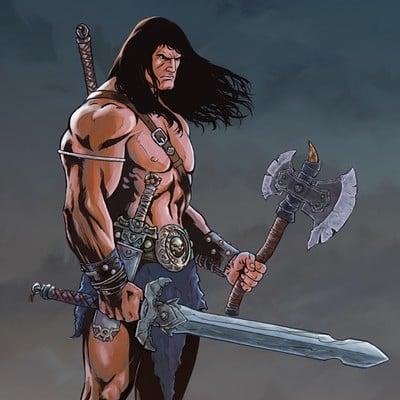 Fernando merlo conan the barbarian