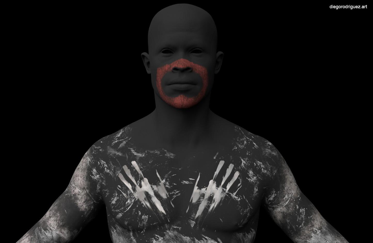 War Paint mask