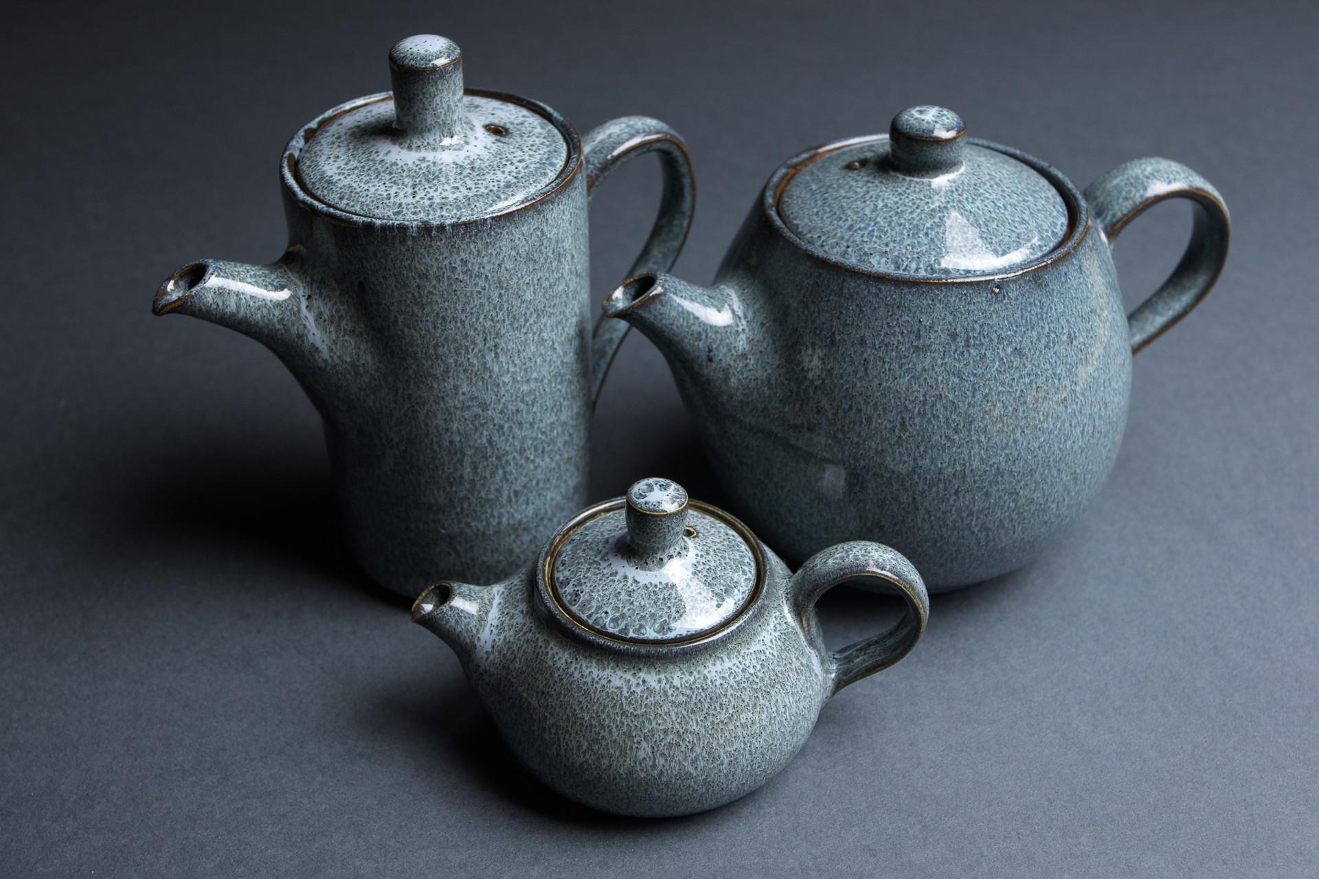 Stoneware teaware