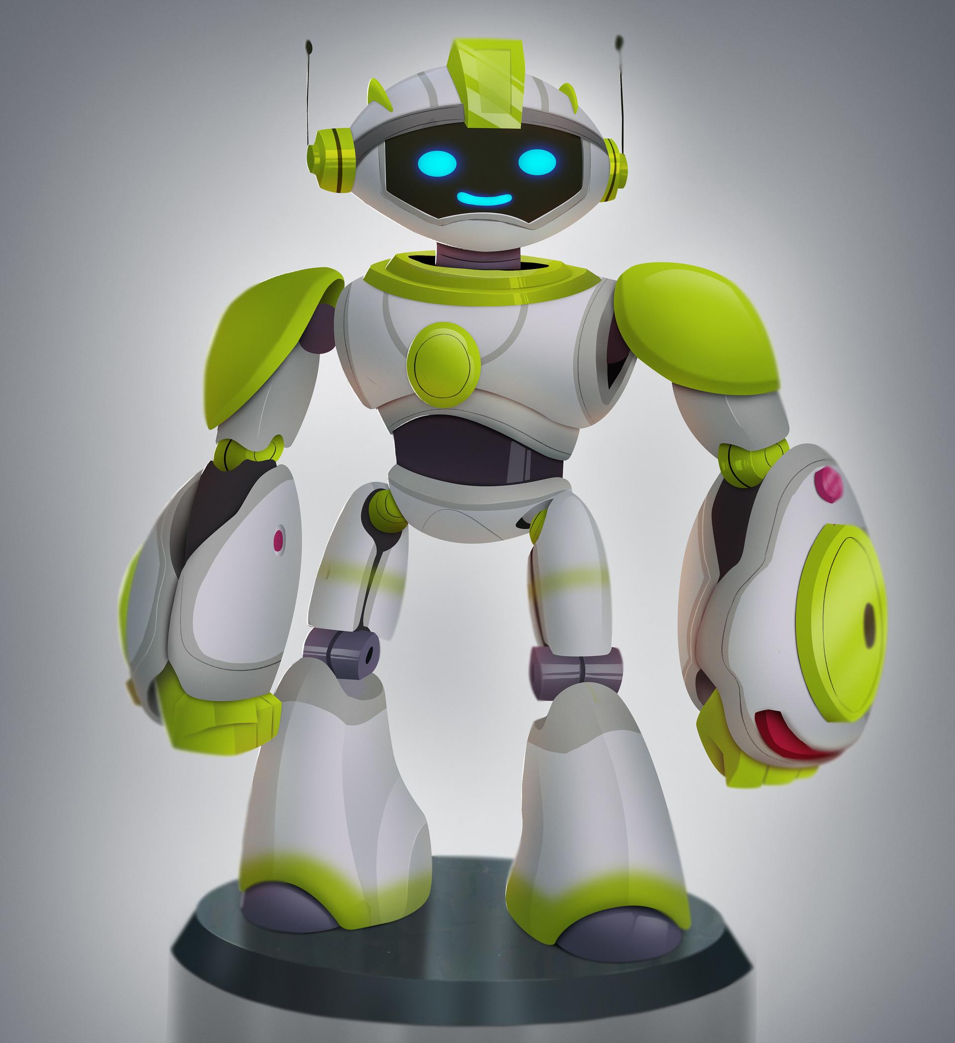 Rayner alencar barclays robot render