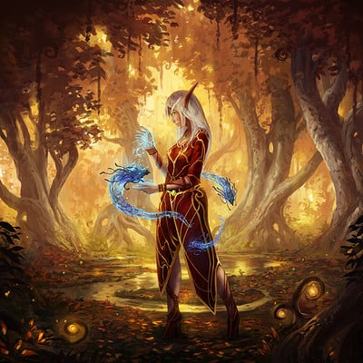 Jorge jacinto wow blood elf female final red