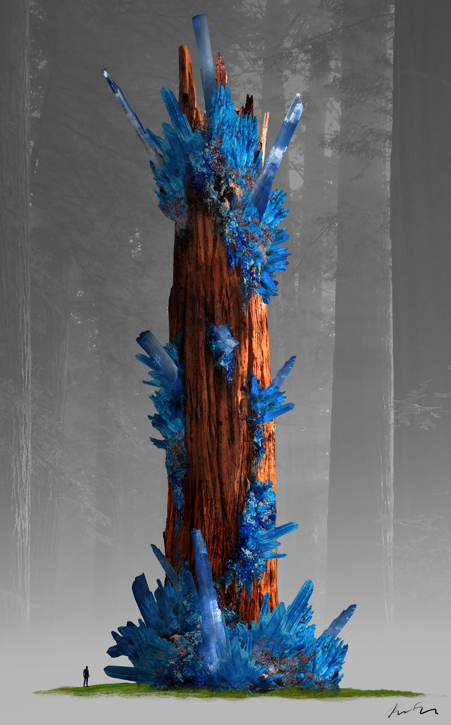 Eva kedves star trekking doodle 02 original colour