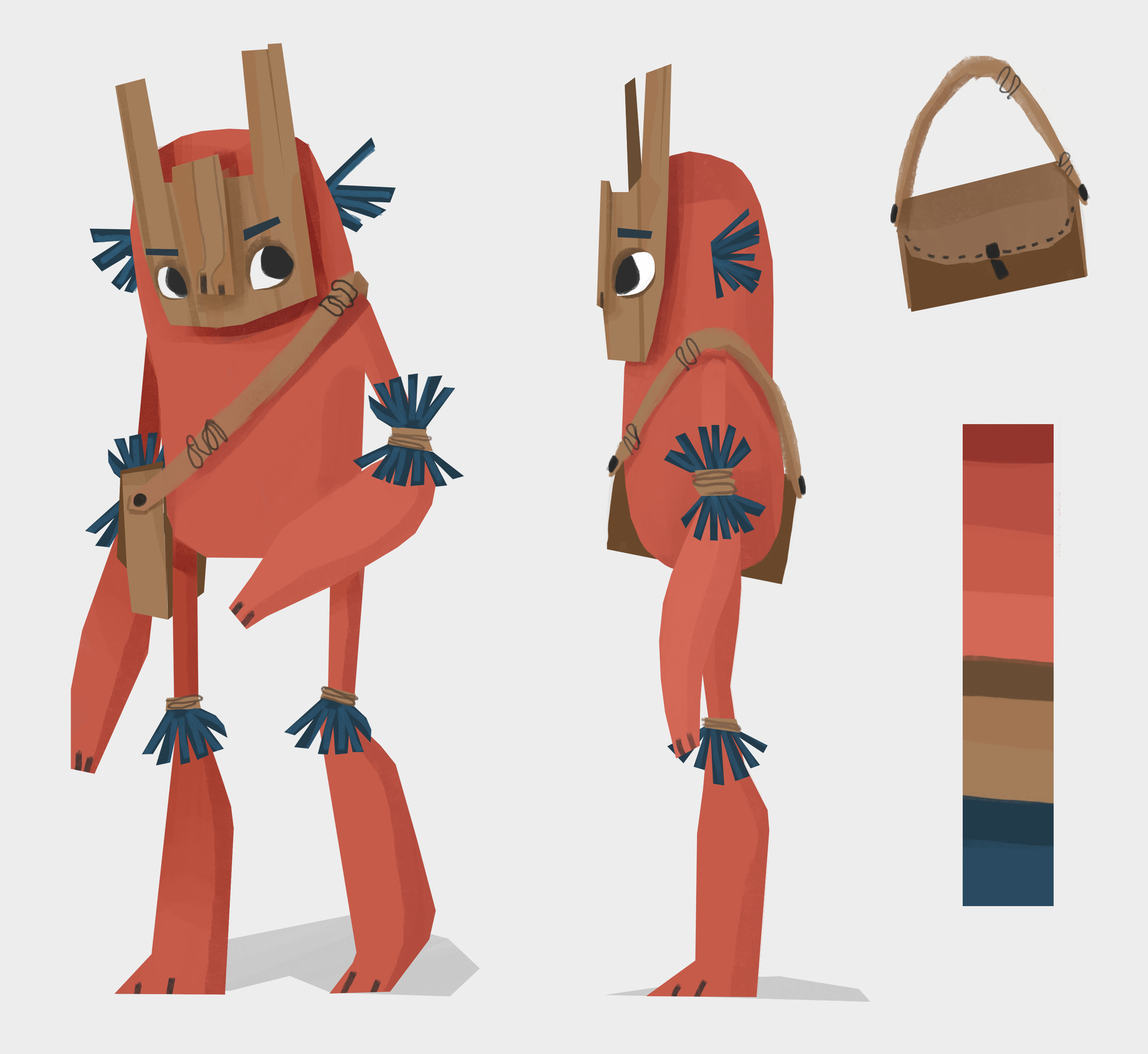 Character Design Courses University : Sylvia wilson university fmp main character