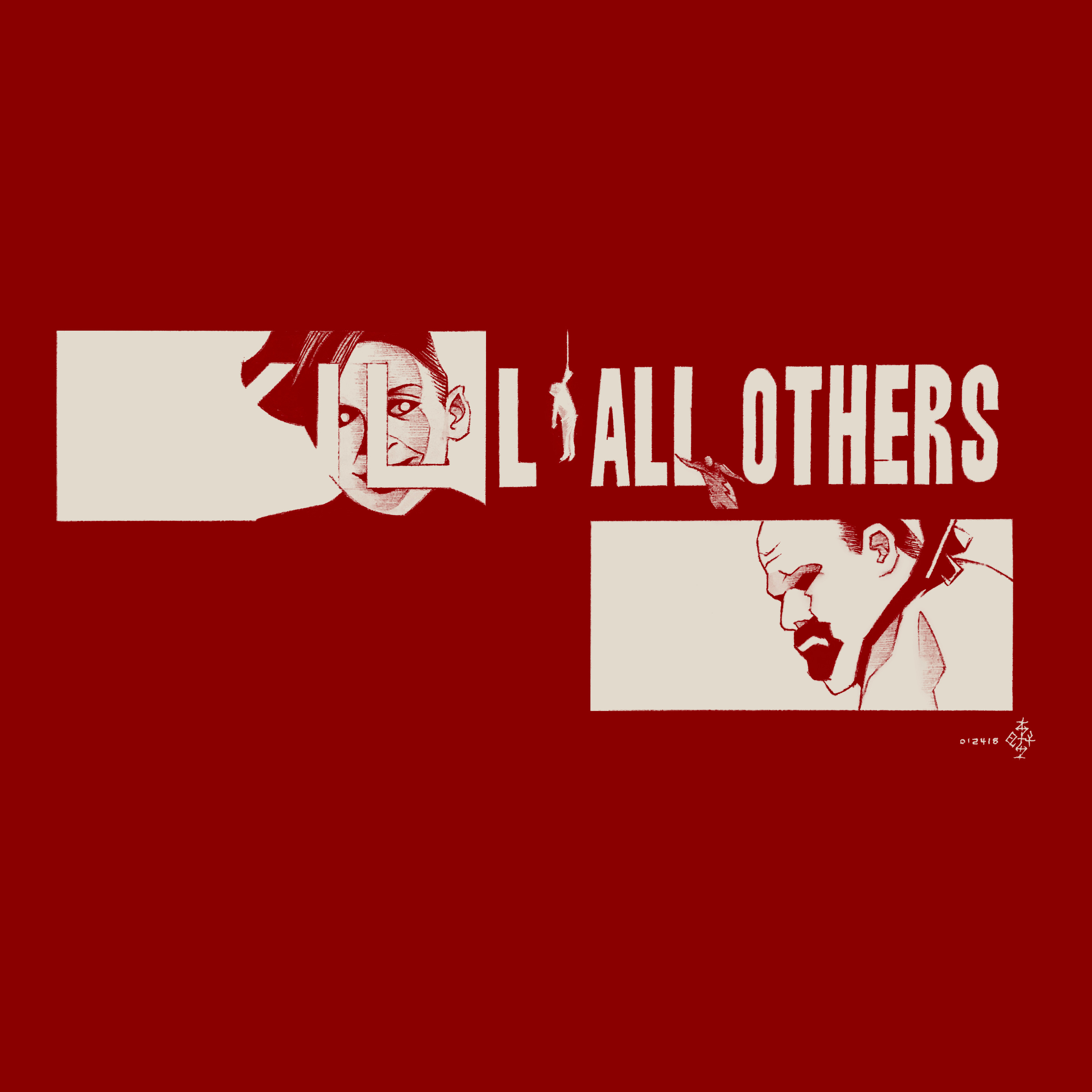 Day #15,126 - Kill All Others in Red