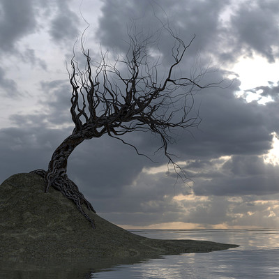Hadi beheshti tree render