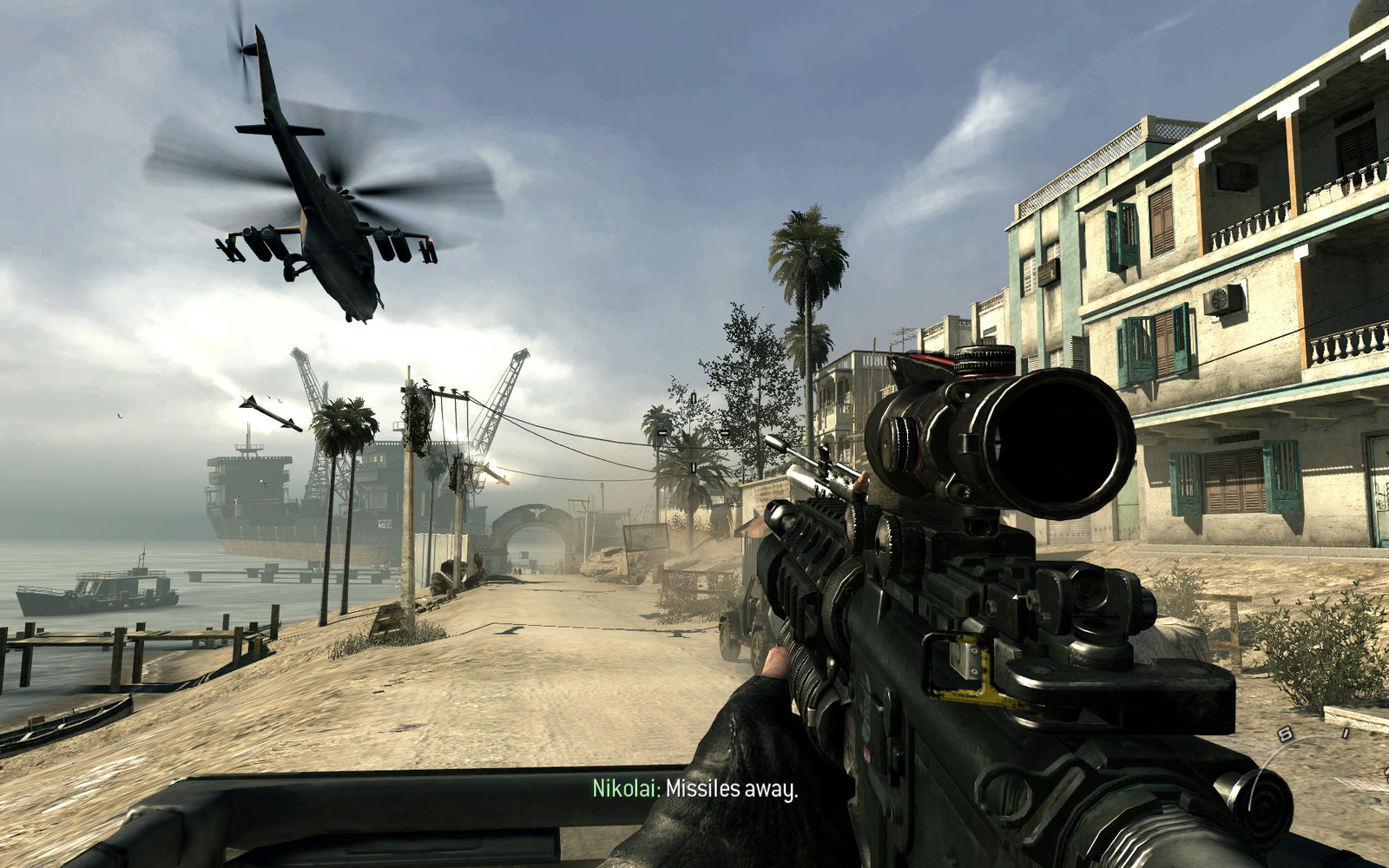 COD: MW3 Return To Sender Lighting