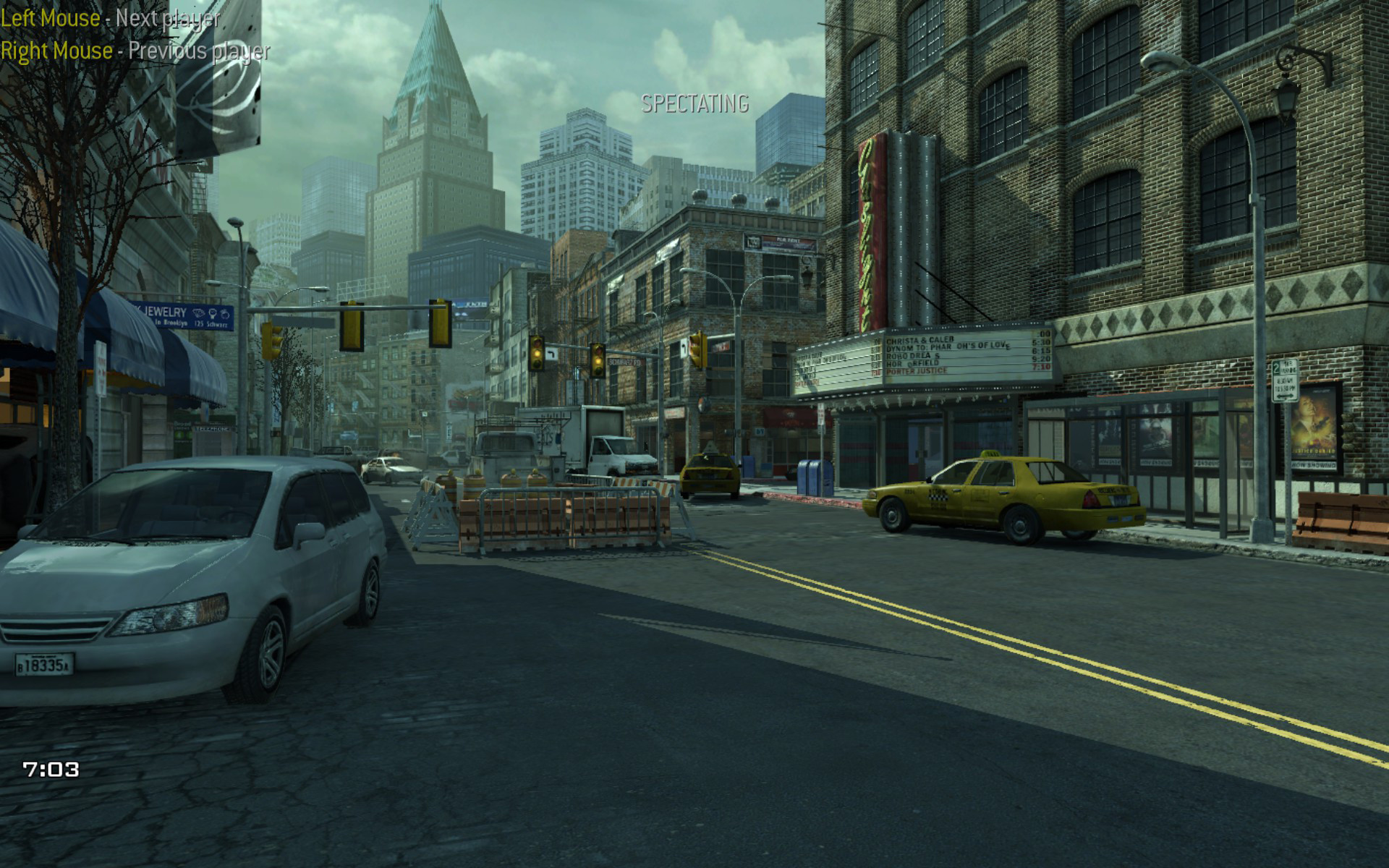 Christopher Logan Cod Mw3 Intersection Lighting