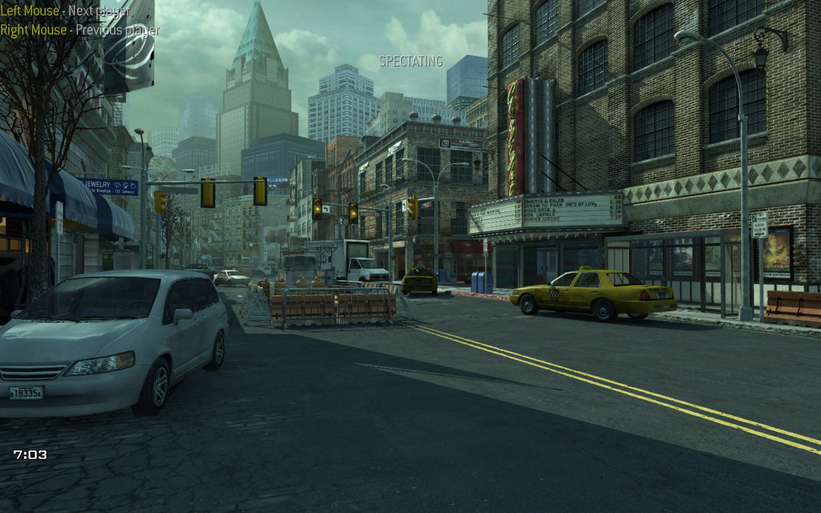 COD: MW3 Intersection Lighting