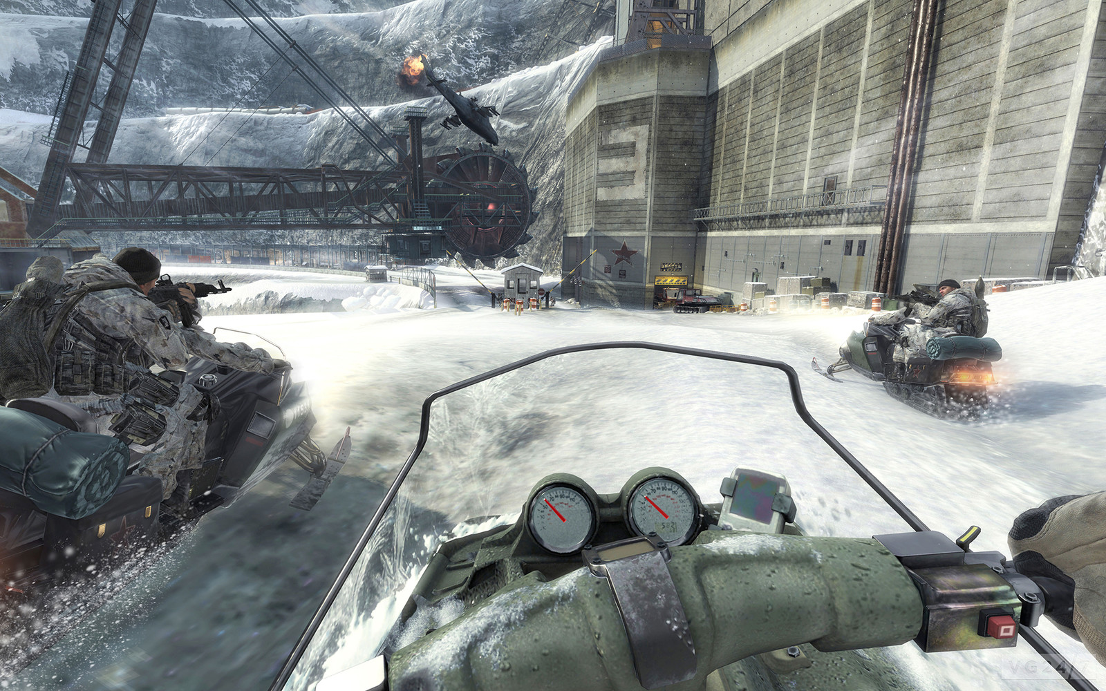 COD: MW3 Black Ice Lighting