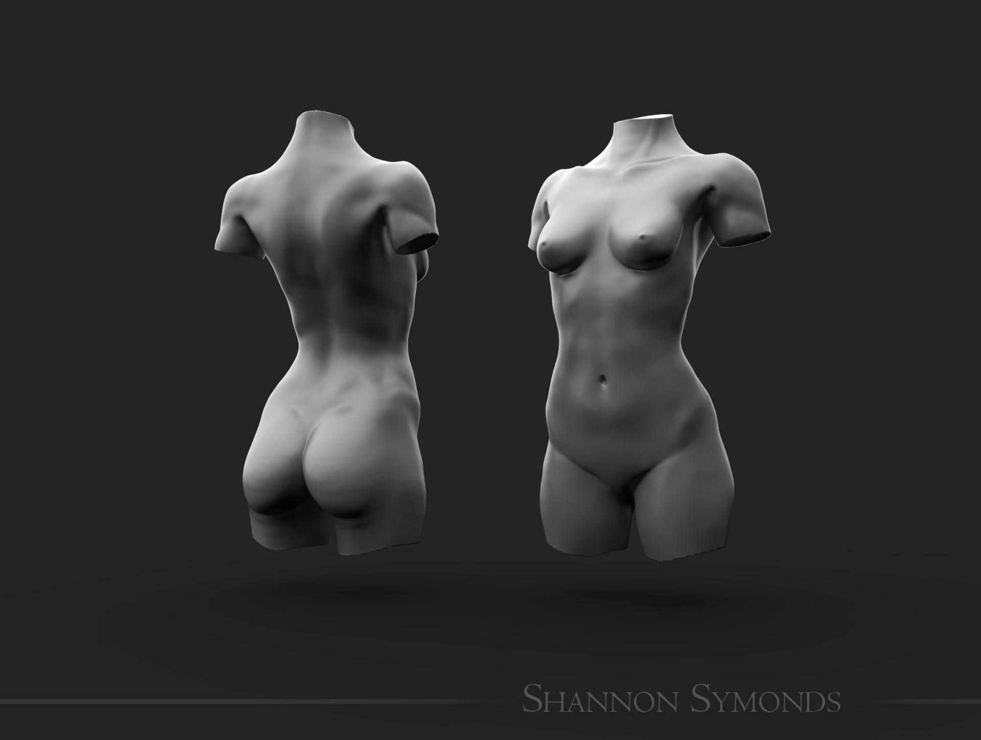 Shannon symonds female unposed