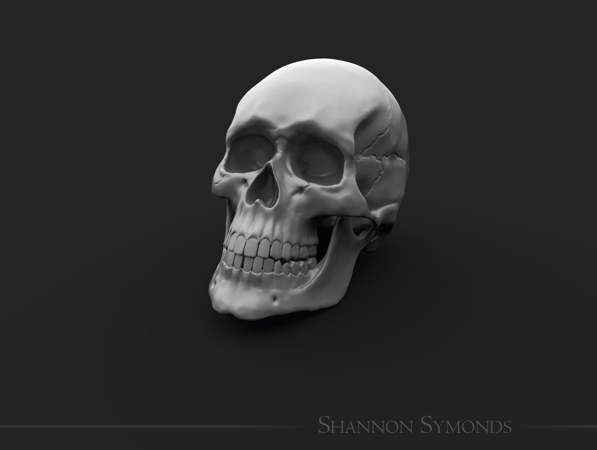 Shannon symonds skull